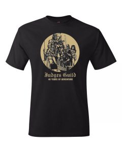 Judges Guild 40th Anniversary T-shirt