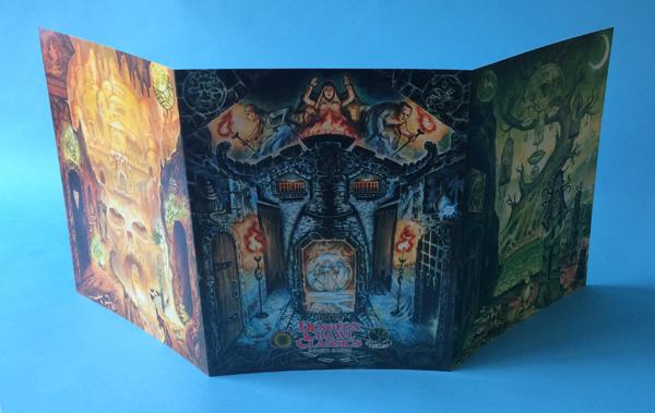 Dungeon Crawl Classics RPG Judges Screen (T.O.S.) -  Goodman Games