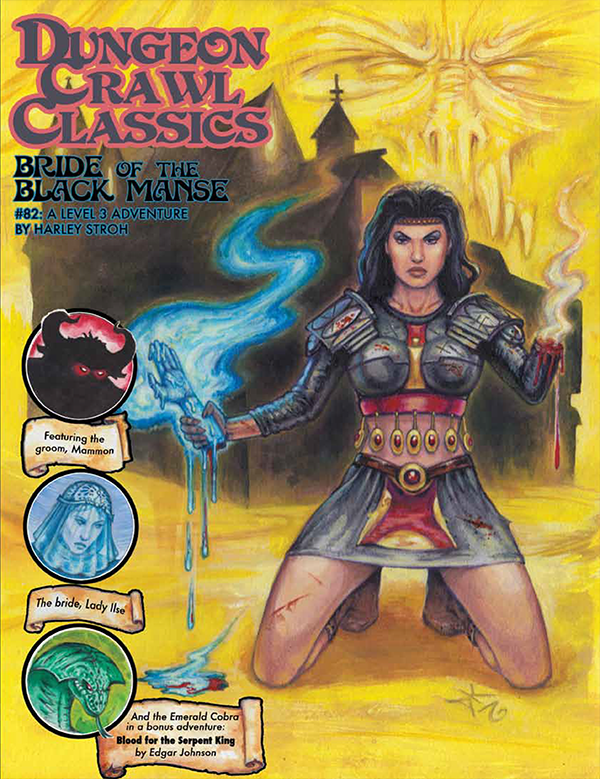 Cover of Dungeon Crawl Classics #82: Bride of the Black Manse