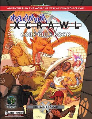 Xcrawl rulebook (Pathfinder) Goodman Games Store