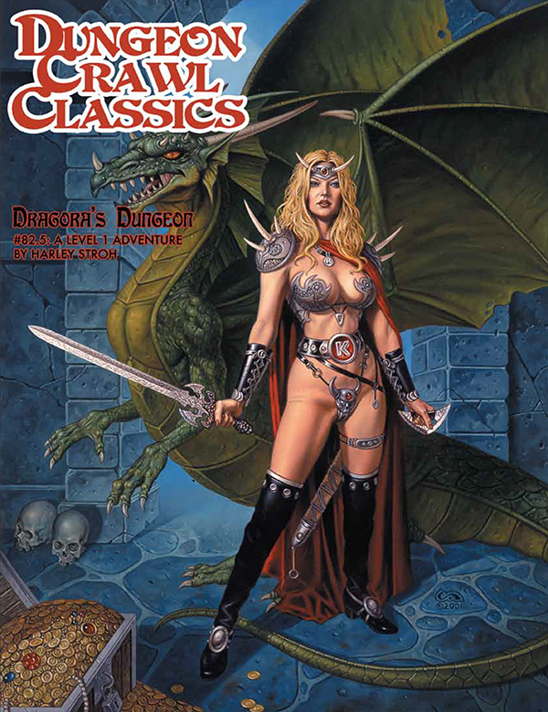 Cover of Dungeon Crawl Classics #82.5: Dragora's Dungeon