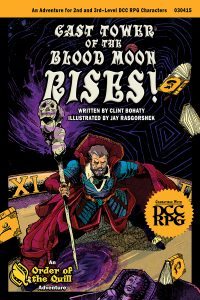 Cast Tower of the Blood Moon Rises Cover