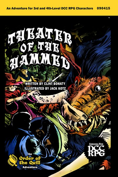 Theater of the Hammed Cover