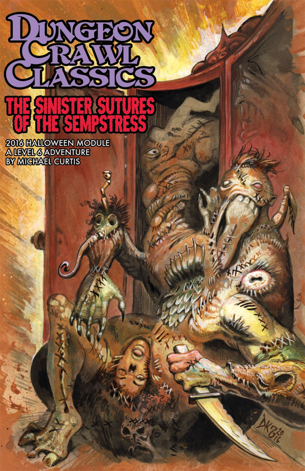 Dungeon Crawl Classics 2016 Halloween Module The Sinister