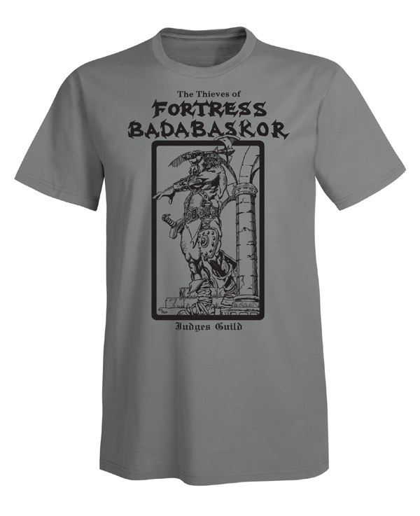 Judges Guild Fortress Badabaskor T-Shirt