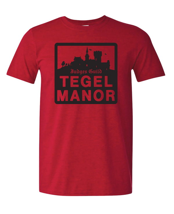 Judges Guild Tegel Manor T-Shirt