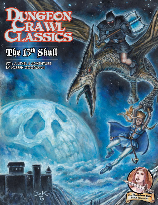 Cover of Dungeon Crawl Classics #71: The 13th Skull