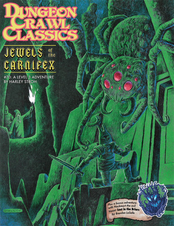 Cover of Dungeon Crawl Classics #70: Jewels of the Carnifex