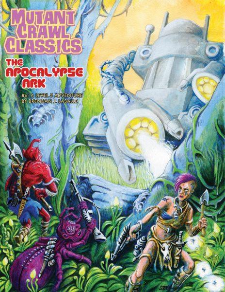 Mutant Crawl Classics 6: The Apocalypse Ark -  Goodman Games