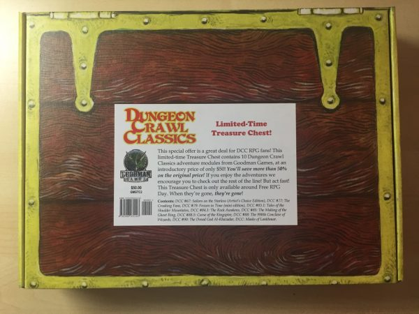 Dungeon Crawl Classics Treasure Chest (T.O.S.) -  Goodman Games