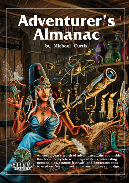 The Adventurers Almanac -  Goodman Games