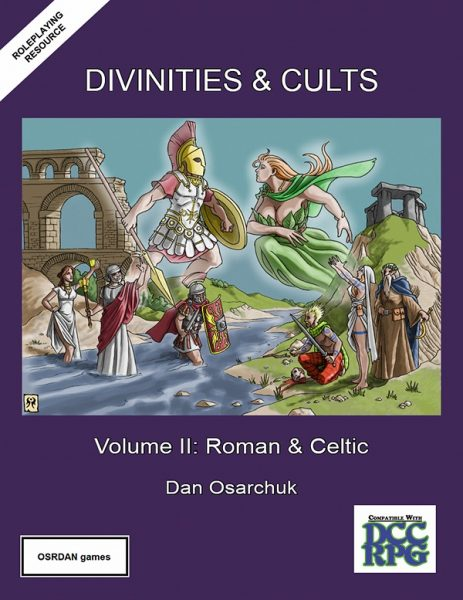 Divinities and Cults Volume II for DCC RPG 600 px