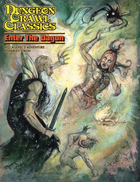 Dungeon Crawl Classics 95: Enter the Dagon DCC RPG -  Goodman Games