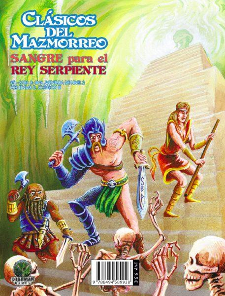 CDM009 - Clasicos del Mazmorreo - Sangre para el Rey Serpiente