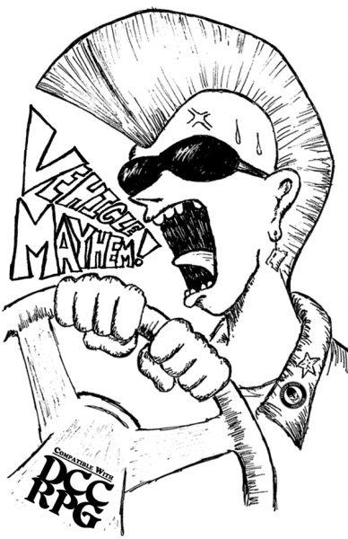 Vehicle Mayhem Cover 600w