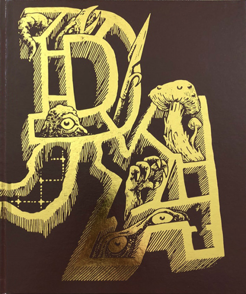 The Dungeon Alphabet: Fourth Printing, Foil Cover -  Goodman Games
