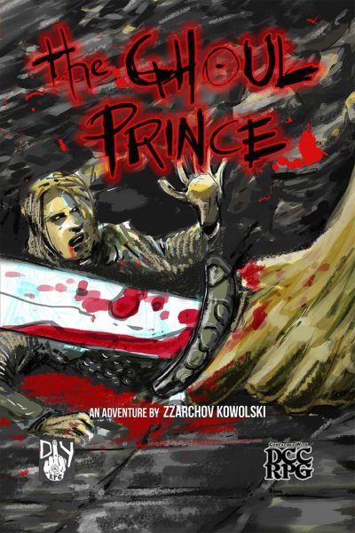 The Ghoul Prince Cover 900px