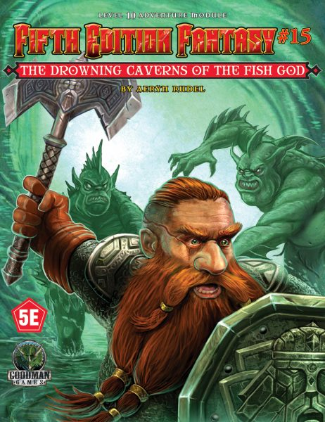 Drowning Caverns of the Fish-God: Fifth Edition Fantasy 15 -  Goodman Games
