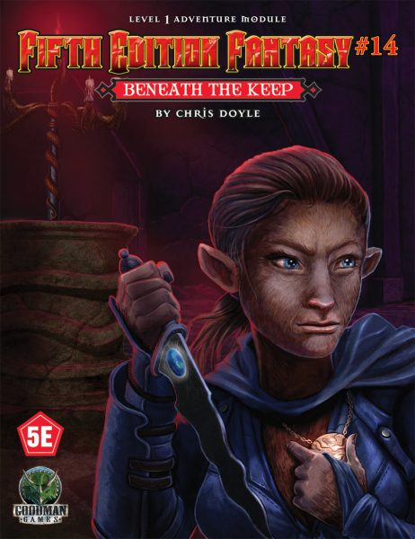 Beneath the Keep: Fifth Edition Fantasy 14  -  Goodman Games
