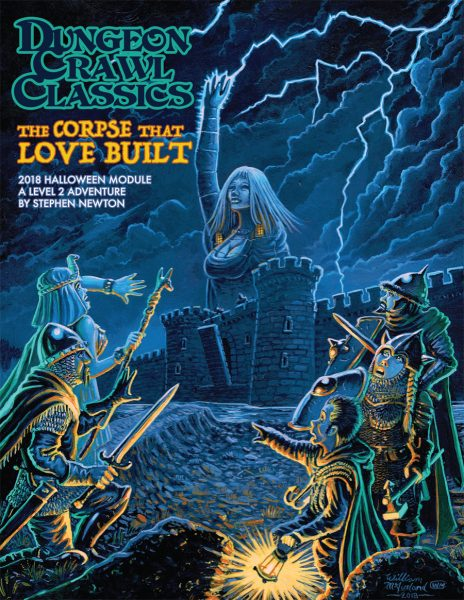 Dungeon Crawl Classics 2018 Halloween Module: The Corpse That Love Built -  Goodman Games
