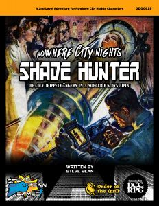Nowhere City Shade Hunter Front Cover