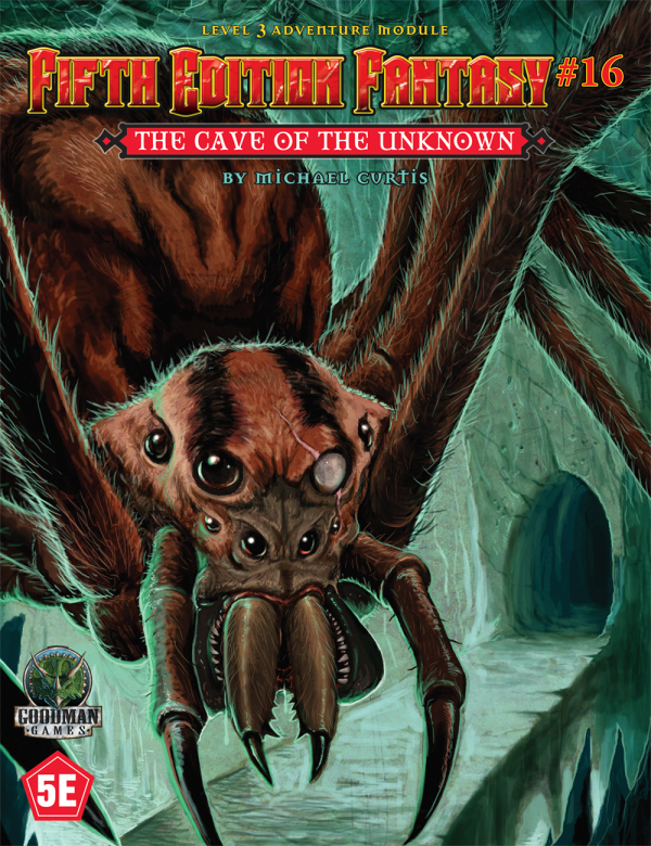 Cave of the Unknown: Fifth Edition Fantasy 16 (T.O.S.) -  Goodman Games