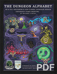 The Dungeon Alphabet expanded third printing PDF