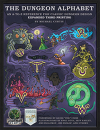 The Dungeon Alphabet expanded third printing