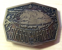 Custom Brass Belt Buckle