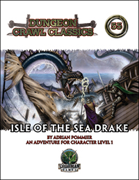 DCC #55: Isle of the Sea Drake