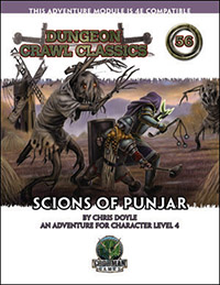 DCC #56: Scions of Punjar