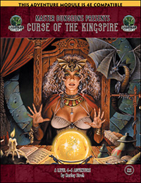 Master Dungeons M2: Curse of the Kingspire