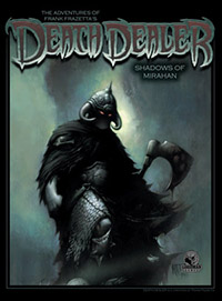 The Adventures of Frank Frazetta's Death Dealer Alternate Cover