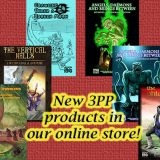New DCC RPG arrivals from 3PP