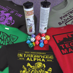 New Dice and Shirts Now In Our Store