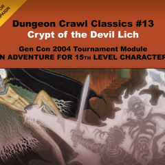 Forgotten Treasure: Crypt of the Devil-Lich