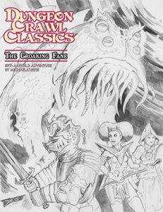 Croaking Fane sketch cover