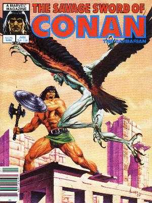 Savage Sword of Conan #108