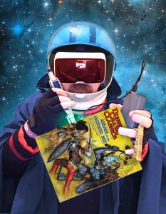 Space Wizard DCC reprints
