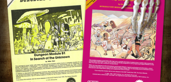 Classic D&D Module Collector's Editions!