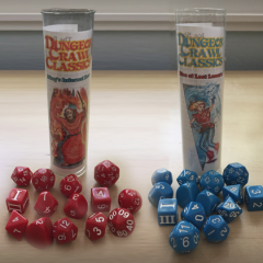 New Dice Set Only At Conventions!