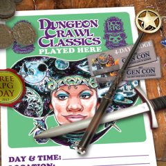 Run a DCC Game for Free RPG Day and Win a Trip to Gen Con!