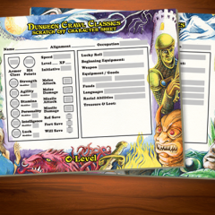 New DCC Scratch-Off Character Sheet Kickstarter is LIVE!