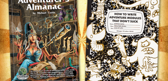 HTWAMTDS and Adventurer's Almanac Now Available!