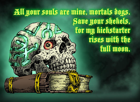 All Your Souls Are Mine, Mortal Dogs!