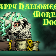 Happy Halloween From The Magician's Skull!