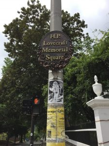 Lovecraft Memorial Square