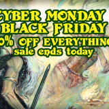 Cyber Monday! Sale Ends Today!