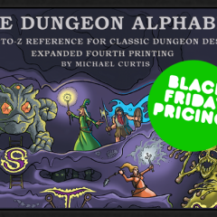 Dungeon Alphabet 4th Printing Kickstarter!