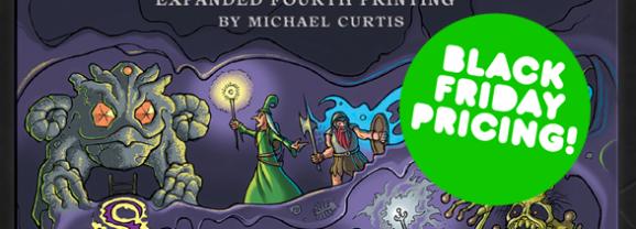 Dungeon Alphabet 4th Printing Kickstarter!